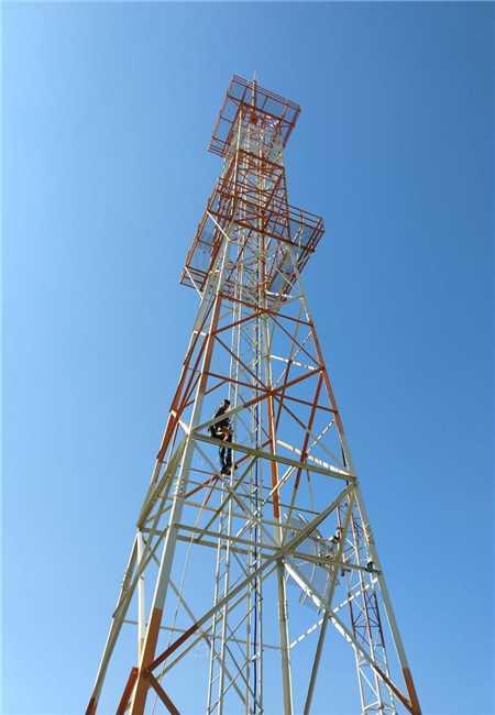 Torre da Fundação Padre Anchieta, no Alto do Cristo, cedido à TV Câmara para instalação da antena