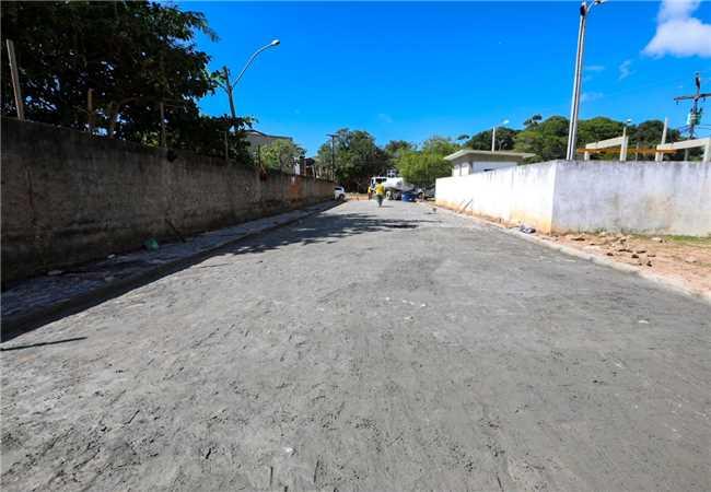 Pavimentação Hernani Sá