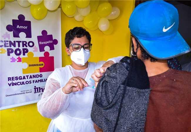 Vacinação Centro Pop