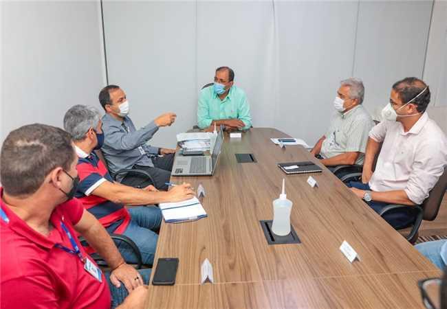 Reunião com a Embasa