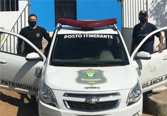 Posto itinerante (Guarda Municipal)