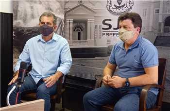 Visita Deputado Estadual Fernando Pacheco